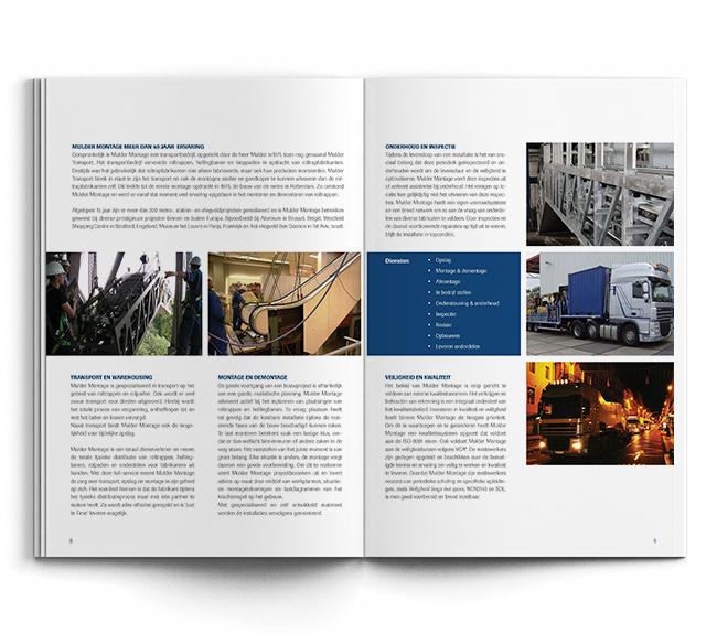 A4 brochure - Mulder Montage