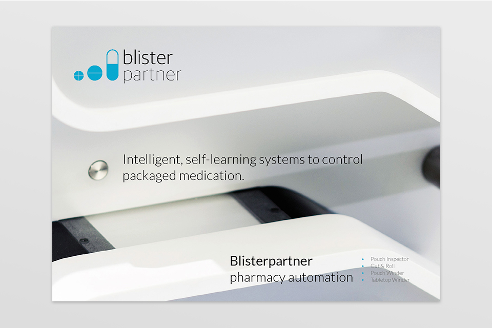 Blisterpartner folder A4 formaat - door Studio Formgiving