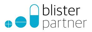 Logo Blisterpartner door Studio Formgiving