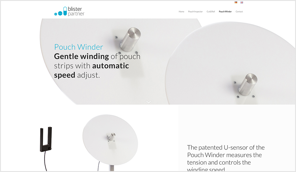 Blisterpartner - website - Pouch Winder - door Studio Formgiving