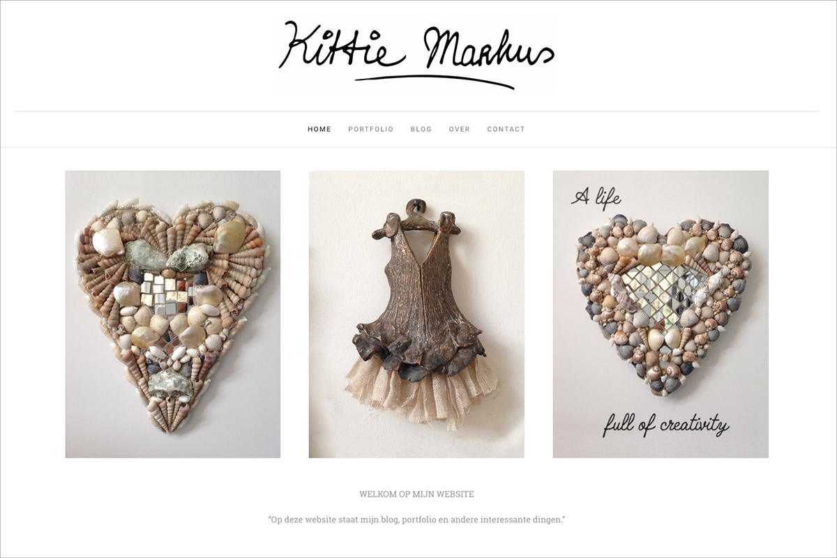 Kittie Markus • website door Studio Formgiving