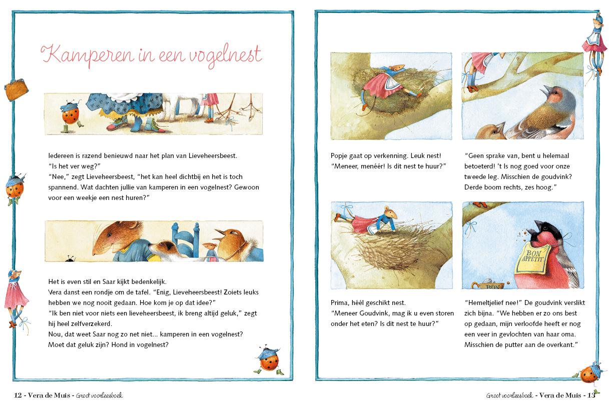 Vera is aan vakantie toe - Marjolein Bastin | pagina 12-13