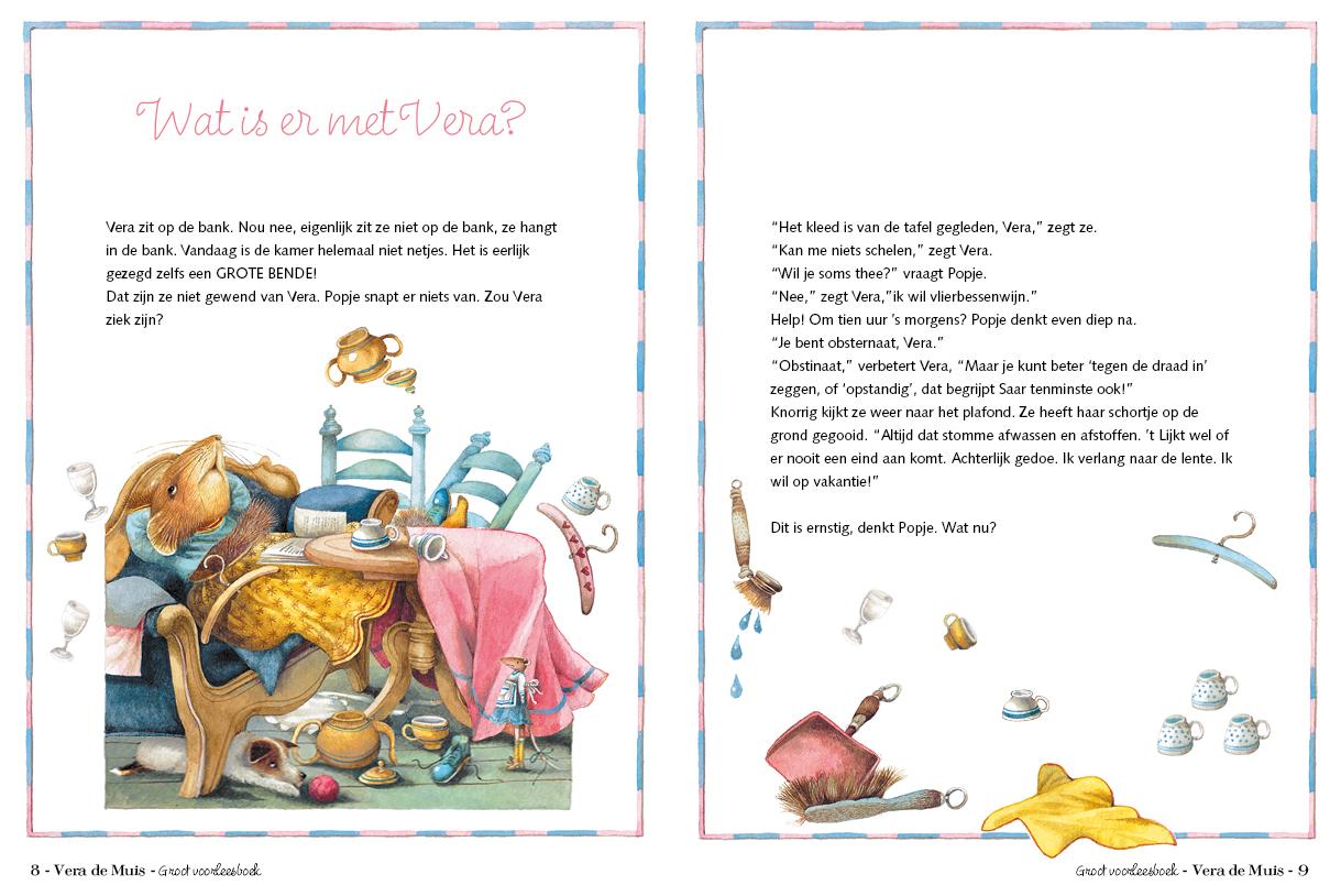 Vera is aan vakantie toe - Marjolein Bastin | pagina 8-9