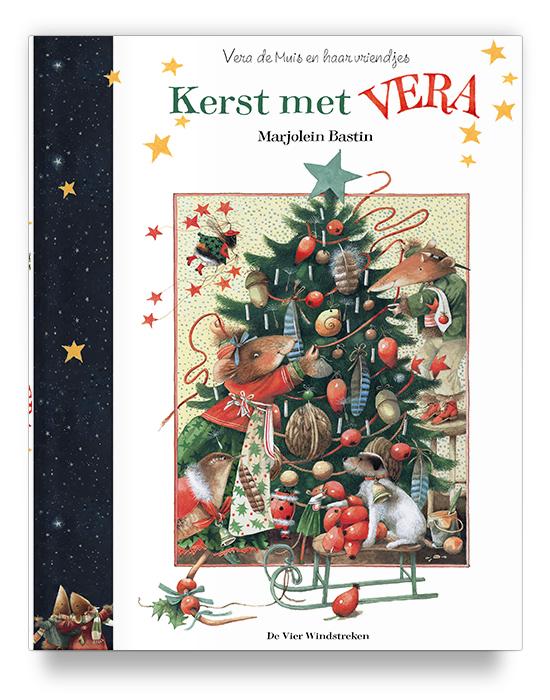 Boekontwerp - Kerst met Vera - Marjolein Bastin