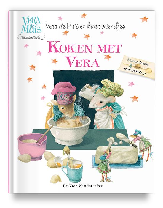 Boekontwerp - Koken met Vera - Marjolein Bastin