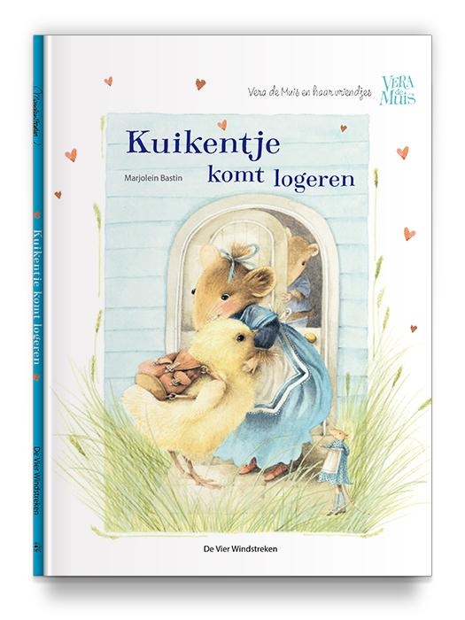 Boekontwerp - Kuikentje komt logeren - Vera de muis - Marjolein Bastin