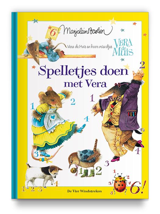 Boekontwerp - Spelletjes doen met Vera - Marjolein Bastin