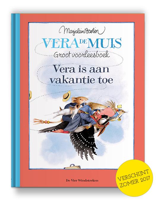 Boekontwerp - Vera is aan vakantie toe - Marjolein Bastin